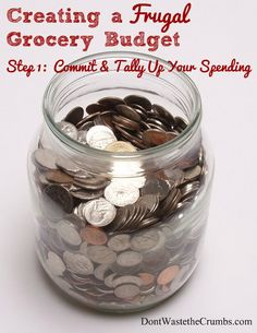 Creating a Frugal Grocery Budget | DontWastetheCrumbs.com