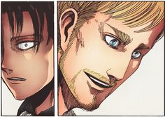 Spoiler levi snk shingeki no kyojin AOT attack on titan snk spoilers rivaille rei* erwin smith SnK: in which every character will be cross-e...