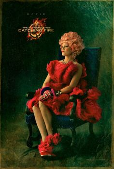First Official Catching Fire Character Posters. Effie Trinket.
