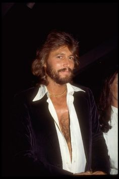 Barry Gibb - talent and those rugged, good looks !