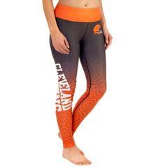 40972d852 Cleveland Browns Womens Gradient Print Leggings