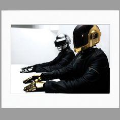Daft Punk Robot Rock Mサイズ(フレーム無) by Sonic Editions