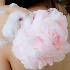 5X Bath Sponge Mesh Ball Scrunchie Body Wash Scourer Exfoliate Puff Shower