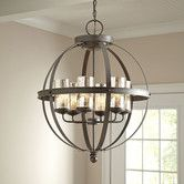 "$318 - 24.5"" high x 18,5"" wide - Found it at Birch Lane - Tuscany Chandelier"