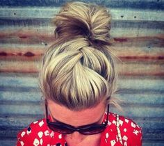 Chignon rock'n'roll'
