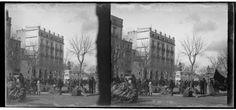 [Mercat a la plaça de Sant Agustí] | Reitg Martí, Josep Maria
