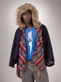 What's Your Spirit Animal? ......... THE PHOENIX CAPE -- PERUVIAN ... (Faux Fur, Limited Collection)..... Traits: Flight > Rebirth > Fire ...... Find out more about the #Phoenix #Spirit #Animal at: https://www.spirithoods.com# $109 #Gifts #Fashion #Shawl #SpiritHood #SpiritHoods #Hoodie #Men #Limited #Collection #Peruvian #FauxFur #Cape #Reversible