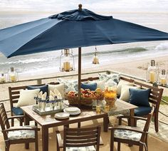 In need of outdoor seating... wish the beach came with it