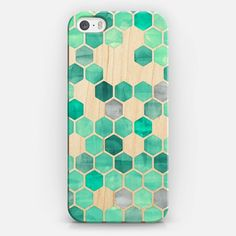 Buy Pink Crystal Hexagon Watercolor Pattern - Transparent iPhone Classic Snap Case by Micklyn Le Feuvre at CASETiFY. Teal Blue, Mint Green, 5s Phone Cases, Personalized Phone Cases, Hexagon Pattern, Cool Cases, Watercolor Pattern, Blue Crystals, Tech Accessories