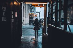 melodyandviolence:   NYC Snow Days by  Jose... - Love Like A Hurricane