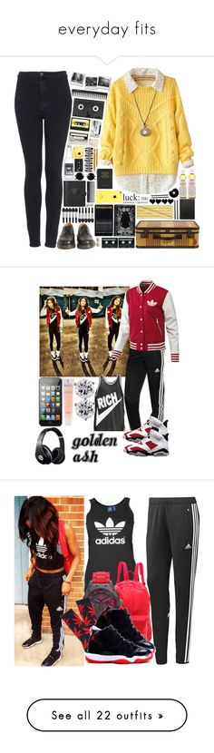 """""""everyday fits"""" by nicole140 ❤ liked on Polyvore featuring Ringnor, Topshop, Dr. Martens, Fujifilm, Luckies, GHD, CASSETTE, Jayson Home, Floyd and Caran D'Ache"""