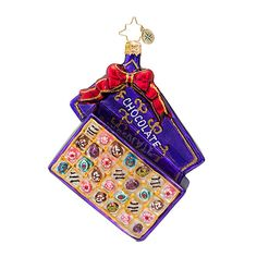 The Christopher Radko Bon Bon Bounty Ornament is part of the 2013 Food & Drink Collection of Radko Ornaments.