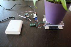 #ESP8266 Meet Thirsdee, the Intelligent Plant Helper! #pushbullet #IoT #WiFi #NodeMCU