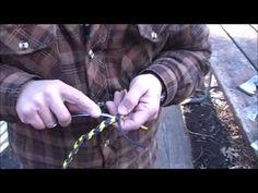 Paracord dog leash instructions