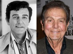Actor Mike Connors - best known for playing detective Joe Mannix.