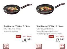 """Lidl: Tefal-Pfannen für 14,99 und 17,99 Euro zu haben https://www.discountfan.de/artikel/essen_und_trinken/lidl-tefal-pfannen-fuer-1499-und-1799-euro-zu-haben.php Bei Lidl sind ab sofort zwei Tefal-Pfannen zu Schnäppchenpreisen zu haben. Eine davon gibt es auch im Onlineshop: Die """"Tefal Edonia"""" mit einem Durchmesser von 28 Zentimetern ist von 39,99 auf 17,99 Euro reduziert worden. Lidl: Tefal-Pfannen für 14,99 und 17,99 Euro zu haben (Bild:... #Pfanne"""
