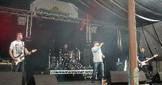 Lakefest 2012 baby - Kickback hit the stage!!