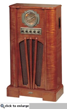 Crosley 1930s Old Time Console Radio