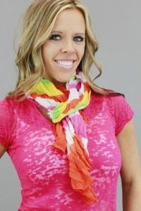Cute Summer Scarf, Only $4.49 Shipped!!