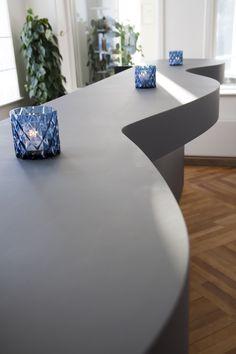 Vejlsøhus Hotel og Konferencecenter – Bar – interiør – Desktop – Furniture Linoleum – Forbo – interior design
