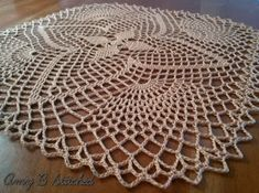 A Stitch At A Time for Amy B Stitched: MANDALILY, a FREE crochet doily pattern
