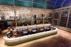 Ruinart Bar, Royal Opera House, London #royaloperahouseinteriors #royaloperahouse  #interiorphotography #interiors #interiorphotos #jonbradley  #ruinart #champagnebars