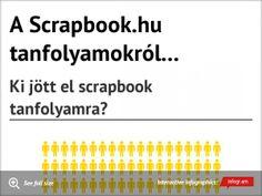 Infographic: A Scrapbook.hu tanfolyamokról... -