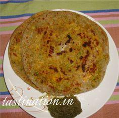 Broccoli Paneer Parantha