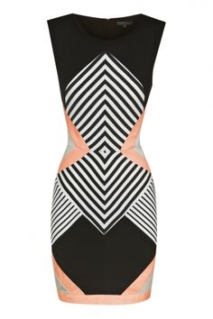 Optical Illusion Dress