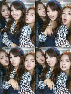 #Naeun #Eunji #Bomi #Cute #Apink #FanCafe #Kpop ♥
