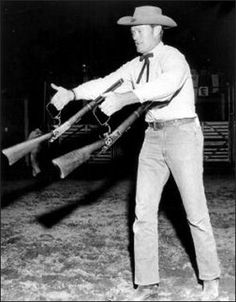 Chuck Connors Daughter | Lucas (Chuck Connors) was know to be able to handle his rifle with ...
