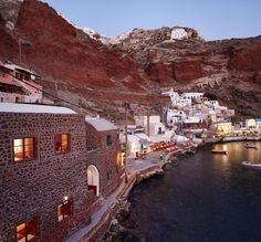 Ammoudi bay in Oia village, Santorini island, Greece.  Selected by www.oiamansion.com