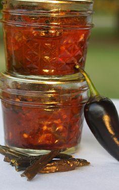 chipotle in adobo http://homespunseasonalliving.com/chipotle-adobo-sauce-canning-recipe/