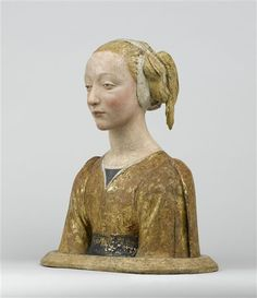 Bust of Saint Constance, or La belle Florentine; circle of Desiderio da Settignano, c. 1450-1475