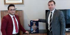 TÜMSİAD Rize Şubesi Yönetim Kurulu Üyesi Hüseyin Kanbur, Cumhurbaşkanlığı Strateji Daire Başkanı Yusuf Karaloğlu'nu ziyaret etti.