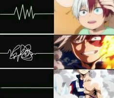 My hero academia - Shouto Todoroki Boku No Hero Academia, Deku Hero Academia, My Hero Academia Memes, Hero Academia Characters, My Hero Academia Manga, Anime Meme, Comic Anime, Otaku Anime, Crossover