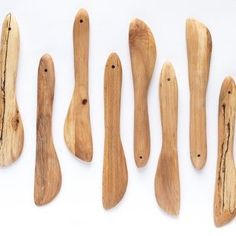 Hand carved beech wood knife for spreading butter and soft cheeses - a lovely way to make everyday jobs that bit more special and a great gift for food lovers. Knife Patterns, Spoon Knife, Butter Spread, Butter Knife, Scandinavian, Hand Carved, Gifts For Her, Artisan, Wood Carving