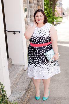 Sandra Darren dress from @gwynniebee on @emilyjoanho
