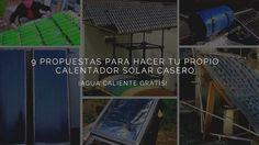 No te preocupes si el frío está llegando. No vas a necesitar electricidad para calentar agua cuando construyas tu propio calentador de agua solar portátil.