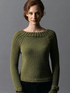 Bow-Tie Pullover in Filatura Di Crosa Zara Gratis gilet femme tricot gratuit Love Knitting, Sweater Knitting Patterns, Knit Patterns, Hand Knitting, Diy Pullover, Pullover Sweaters, Cardigans, Oversize Pullover