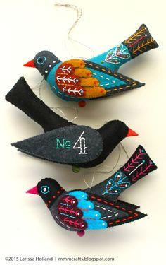 mmmcrafts: Colly Uccello modello è ora disponibile!