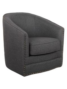 porter swivel glider tub chair by design studios at gilt