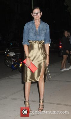 Jenna Lyons - Premiere of 'Addicted to Fresno' - Arrivals at SVA Theater - New York, New York, United States...