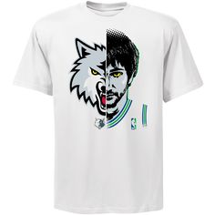 NBA Exclusive Collection Minnesota Timberwolves Ricky Rubio GameFace T-Shirt *NBAStore.com Exclusive* /// $23.99