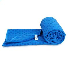 Yoga Mat Towel Nonslid Skid Resistance Antislip Injury Free Matsized Super Absorbent Fitness Exercise Travel Sport Towels Hot Yoga Bikram Yoga Blanket Carpet Blueplum Flower *** Offer can be found by clicking the VISIT button