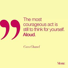 Courage to think Aloud