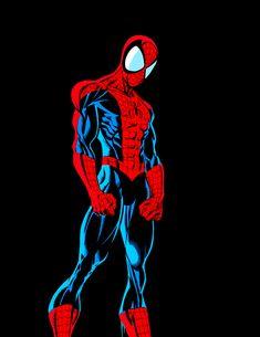 Spider-Man by Mark Bagley Marvel Art, Marvel Dc Comics, Marvel Heroes, Spiderman Art, Amazing Spiderman, Comic Books Art, Comic Art, Mark Bagley, Comic Manga