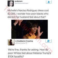 No tax payer money, buys the first families cloths. Google it!