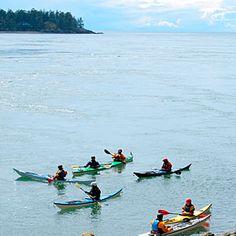 San Juan Islands, WA: kayaking