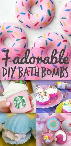 Okay so I tried my first bath bomb the other day and it was seriously the best thing since sliced bread! But the only downside is it gets a little pricey so I thought, why not make my own! Check out 10 AMAZING DIY bath bombs in the cutest designs ever! Let us know which one is your fav xx